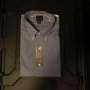 Jos. A. Bank Traveler Pinpoint Dress Shirt